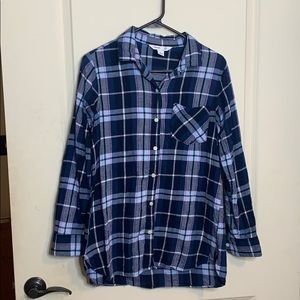 "Blue Flannel ""the tunic shirt"""